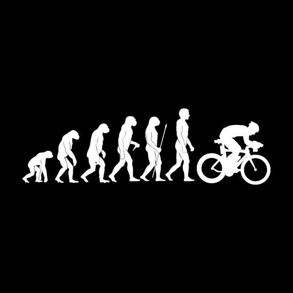Rennrad Fahrrad Bicycle Evolution Aufkleber Sticker 31 x 9,5 cm