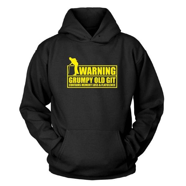 Warning, Grumpy Old Git Kapuzenpullover
