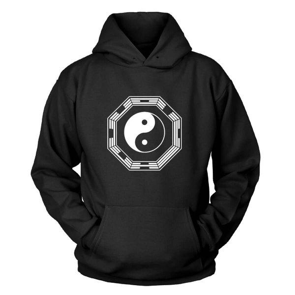 Yin und Yang Kapuzenpullover