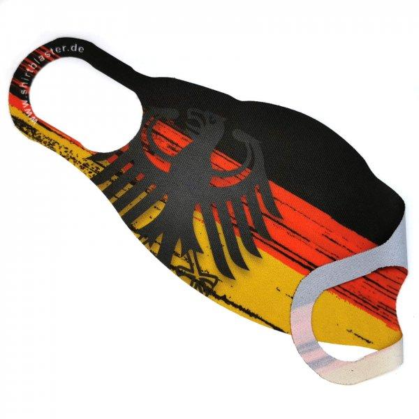 Corona Mehrweg Mundschutz Maske Deutschland Germany waschbar S-L