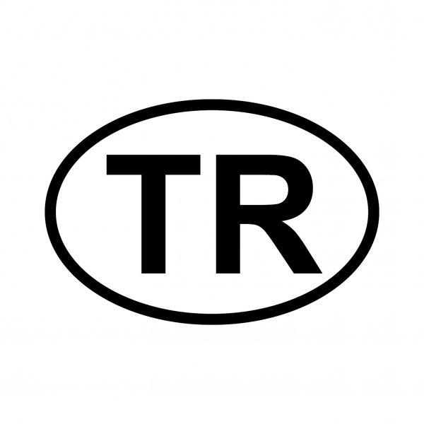 Türkei TR Aufkleber Autoaufkleber Sticker 15cm x 10cm
