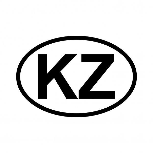 Kasachstan KZ Aufkleber Autoaufkleber Sticker 15cm x 10cm