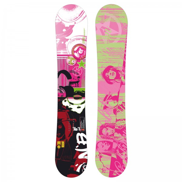 Freestyle Snowboard Atom Rnb Unisex Pipe Kicker Big Air Carbon Sandwich
