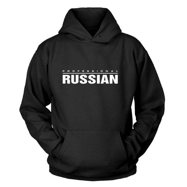 Professional Russian Kapuzenpullover