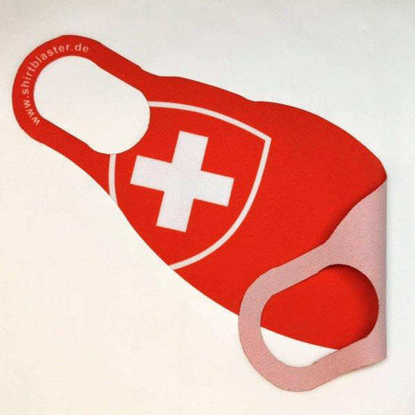 Maske Mund-Nasen-Bedeckung Stoffmaske Schweiz Suisse Switzerland waschbar S-L