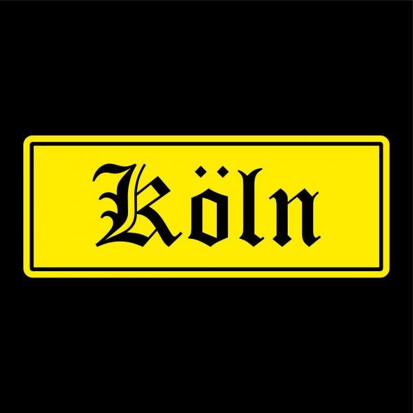 Köln Städte Auto Aufkleber Sticker 5cm x 13cm