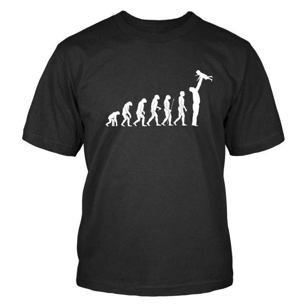 Vatertag Evolution T-Shirt