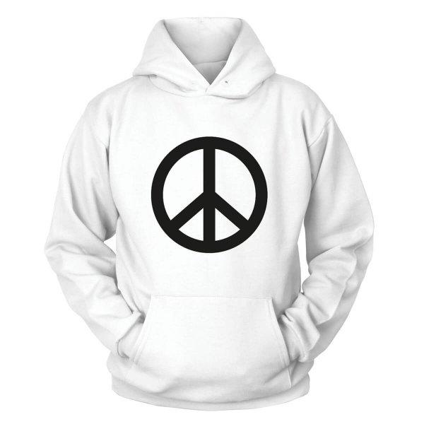 Peace Kapuzenpullover