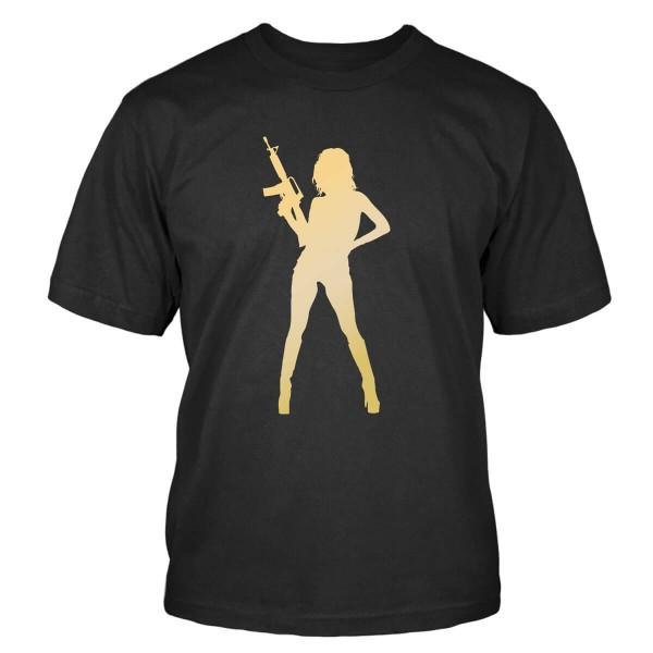 M16-Girl T-Shirt