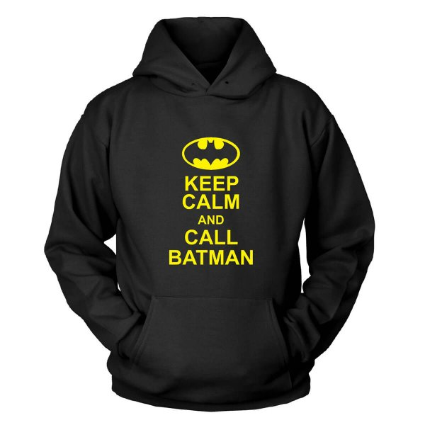 Keep Calm And Call Batman Kapuzenpullover