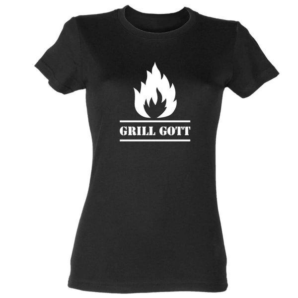 Grill Gott Damen T-Shirt