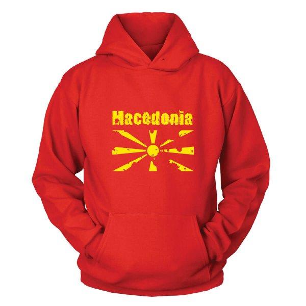 Mazedonien Kapuzenpullover