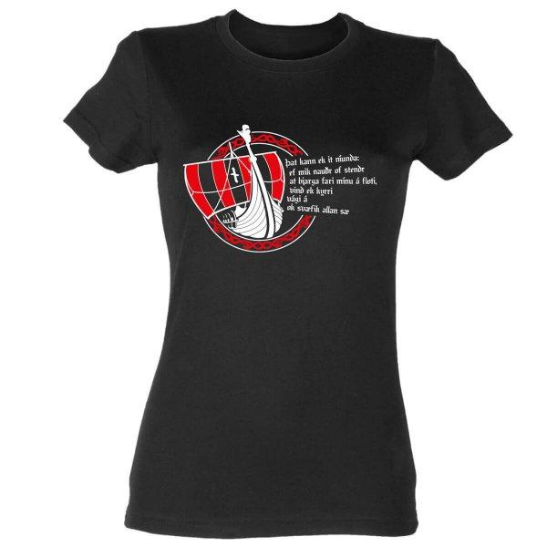 Drakkar Wikinger Damen T-Shirt