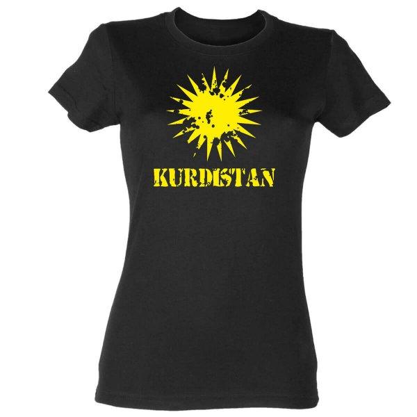 Kurdistan Damen T-Shirt