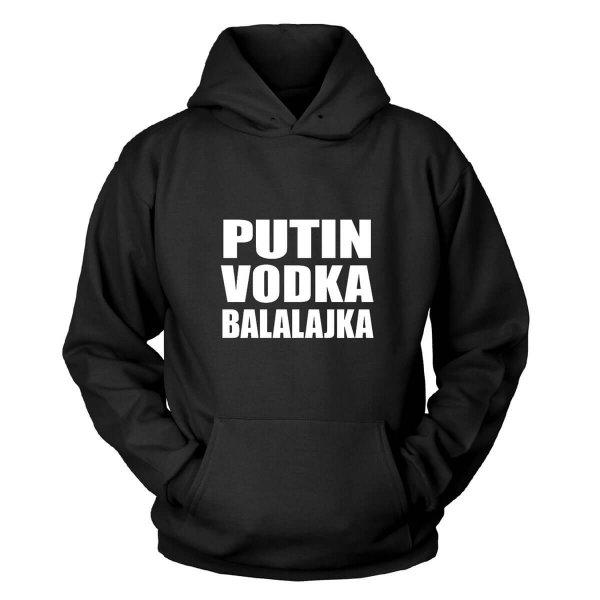 Putin Vodka Balalajka Kapuzenpullover