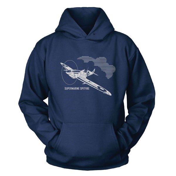 Supermarine Spitfire Kapuzenpullover