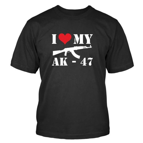 I love my AK-47 T-Shirt