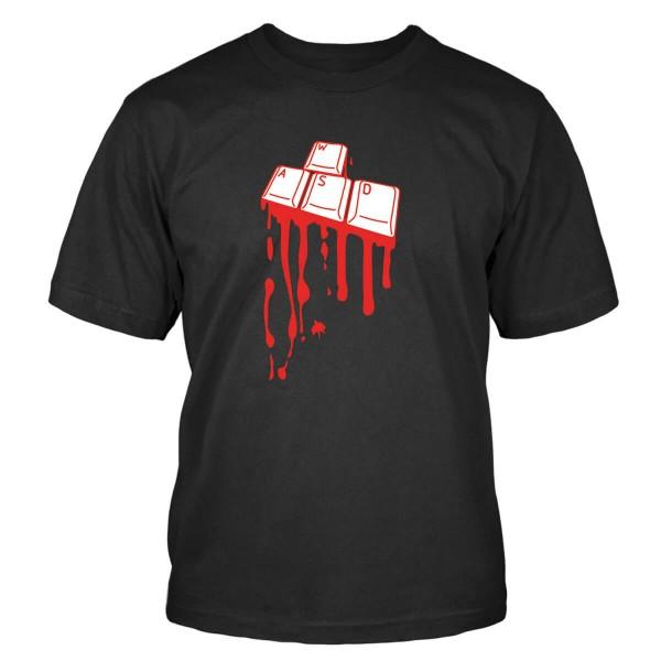 WASD Tastatur T-Shirt