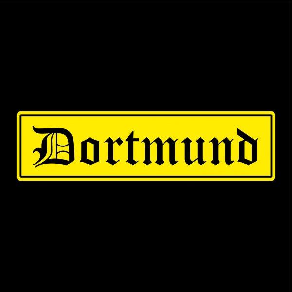 Dortmund Städte Auto Aufkleber Sticker 5cm x 19cm
