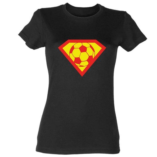 Supergirl Fußball Damen T-Shirt