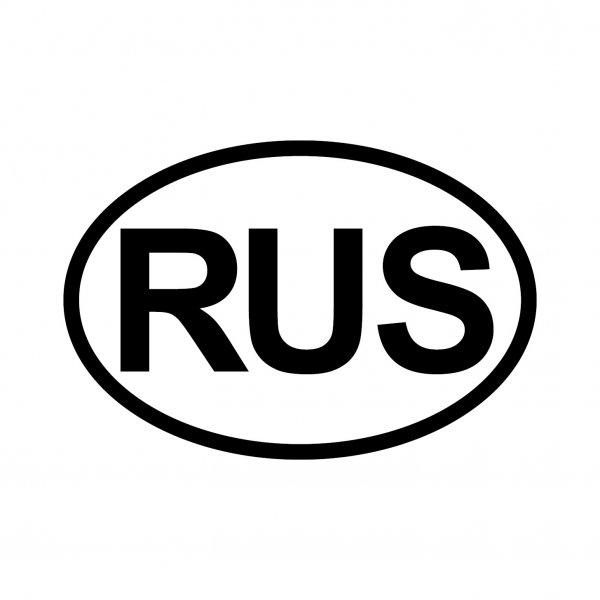 Russland RUS Aufkleber Autoaufkleber Sticker 15cm x 10cm