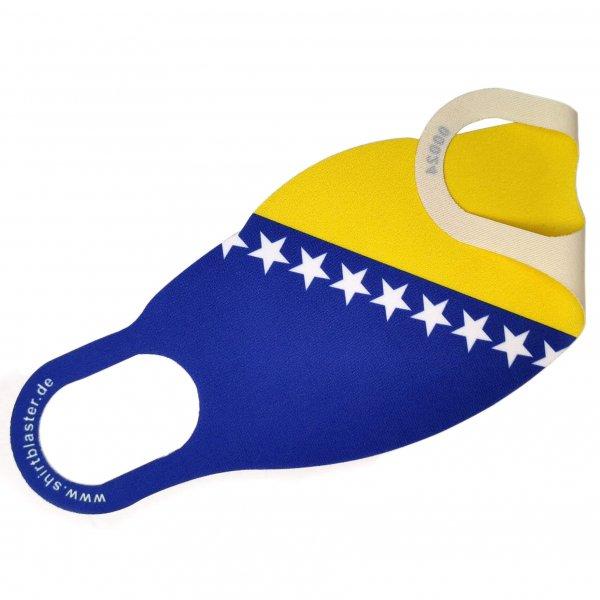 Corona Maske Mundschutz Mehrweg Bosnien Bosna BIH waschbar S-L