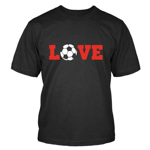 Love Fußball T-Shirt