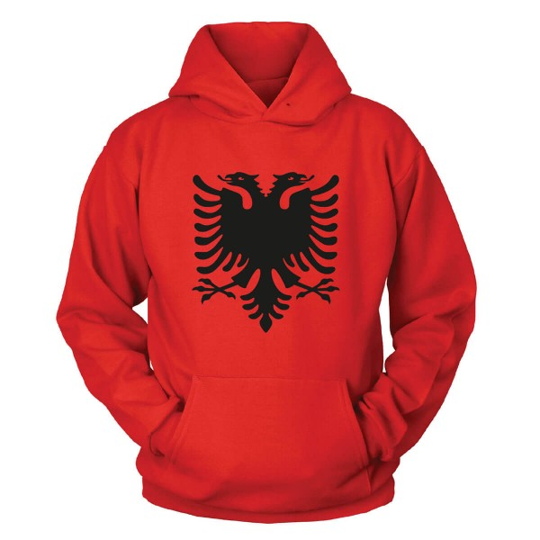Albanien Kapuzenpullover