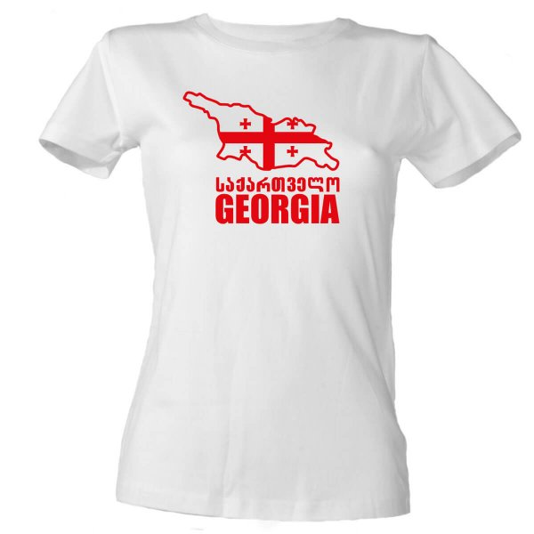 Georgia Damen T-Shirt