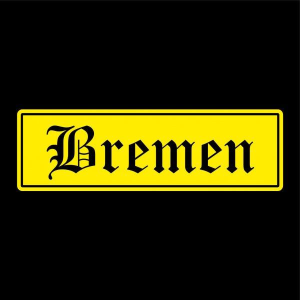 Bremen Städte Auto Aufkleber Sticker 5cm x 17cm