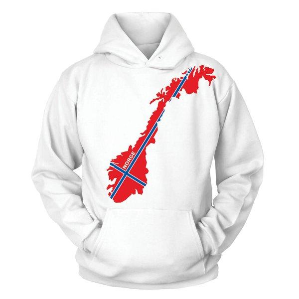 Norwegen Kapuzenpullover