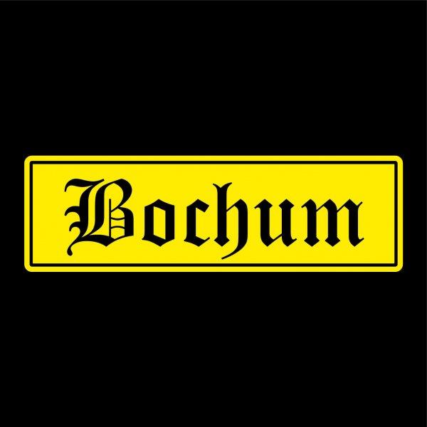 Bochum Auto Aufkleber Sticker 5cm x 17cm