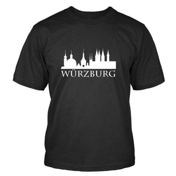 #Heimvorteil Würzburg Franken Skyline T-Shirt