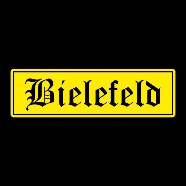 Bielefeld Städte Auto Aufkleber Sticker 5cm x 18cm