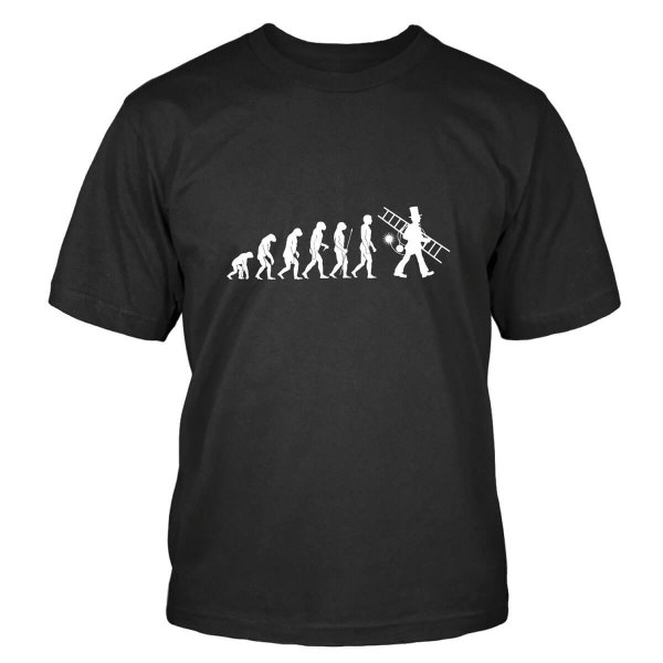 Schornsteinfeger Evolution T-Shirt