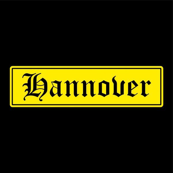 Hannover Städte Auto Aufkleber Sticker 5cm x 19cm