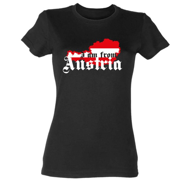 I am from Austria Damen T-Shirt