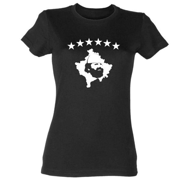 Adem Jashari Kosovo Damen T-Shirt