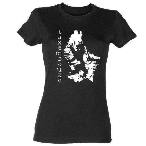 Luxemburg Damen T-Shirt