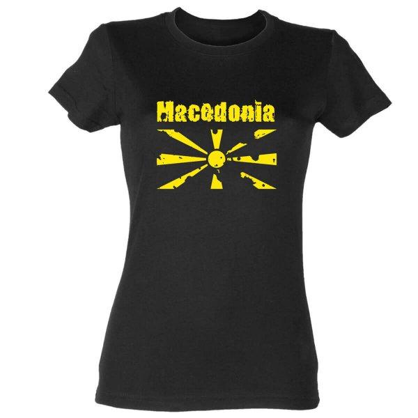 Mazedonien Damen T-Shirt