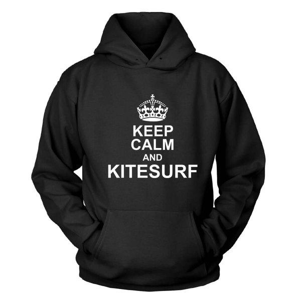 Keep Calm and kitesurf Kapuzenpullover