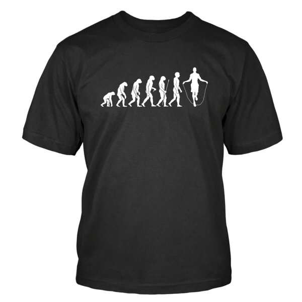 Seilspringen Evolution T-Shirt