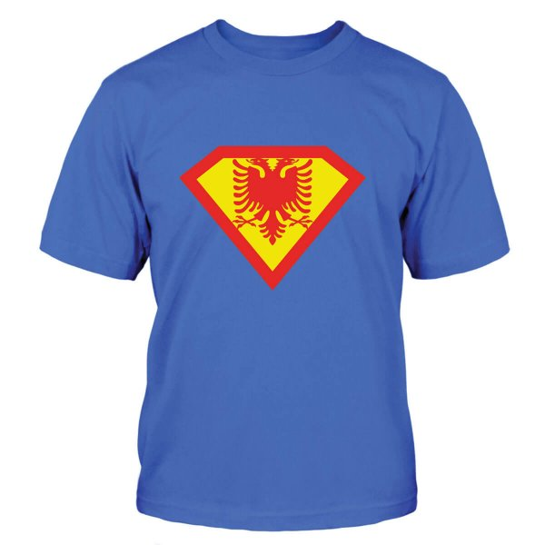 Superman Albanien T-Shirt