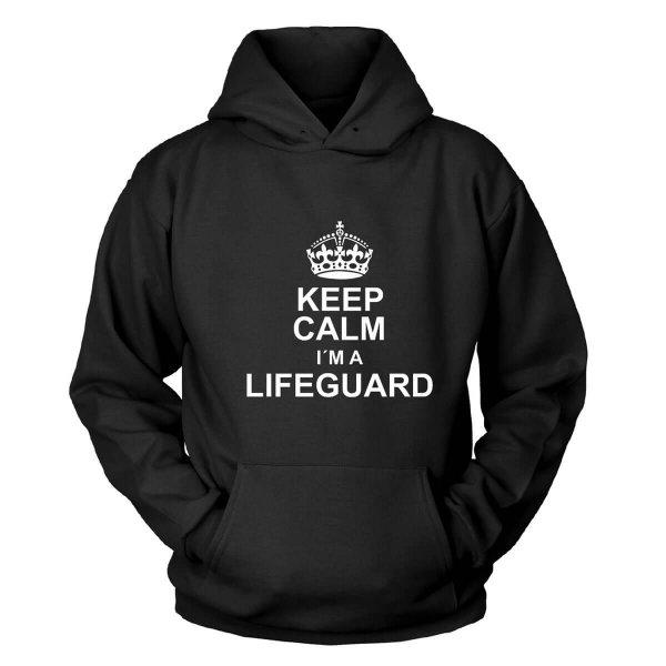 Keep Calm I´m a Lifeguard Kapuzenpullover