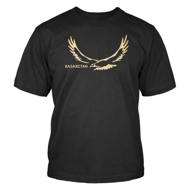Kasachstan mit Adler T-Shirt