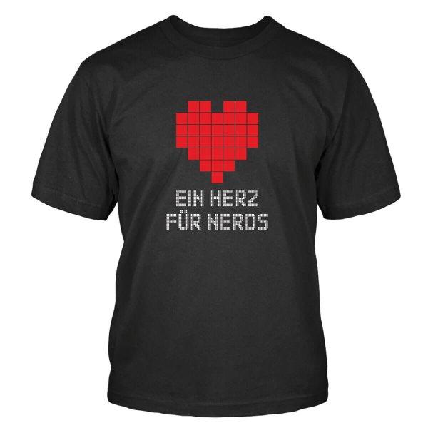 Ein Herz für Nerds T-Shirt