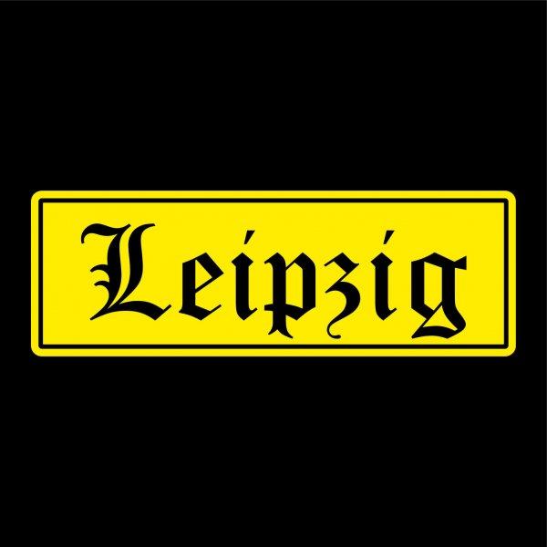 Leipzig Städte Auto Aufkleber Sticker 5cm x 15cm