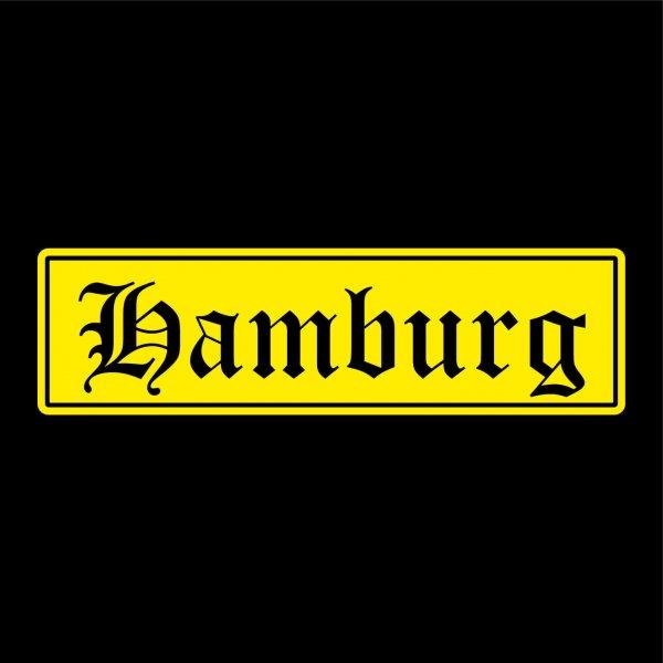 Hamburg Städte Auto Aufkleber Sticker 5cm x 18cm