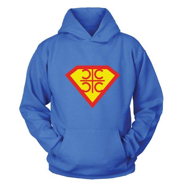 CCCC Superman Kapuzenpullover