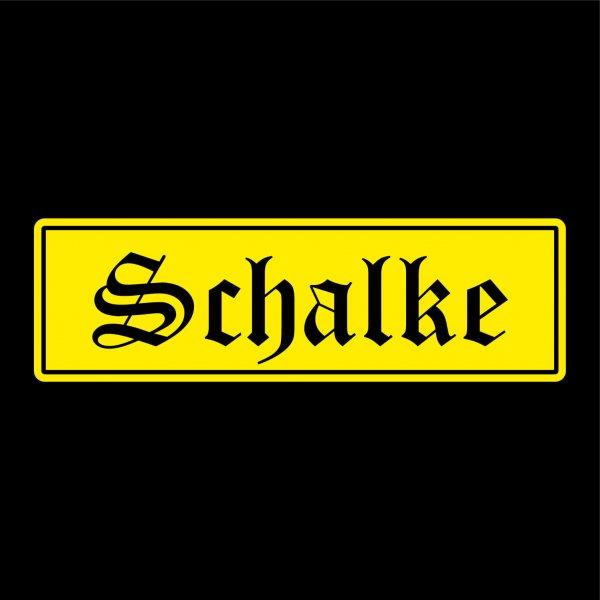 Schalke Städte Auto Aufkleber Sticker 5cm x 17cm
